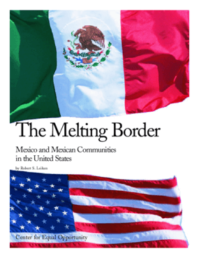 The Melting Border