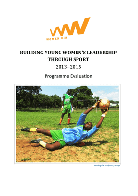 Building Young Women's Leadership Through Sport