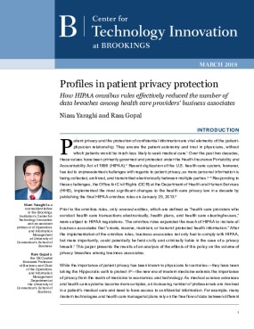 Profiles in Patient Privacy Protection: How HIPAA Omnibus Rules Effectively Reduced the Number of Data Breaches among Health Care Providers' Business Associates