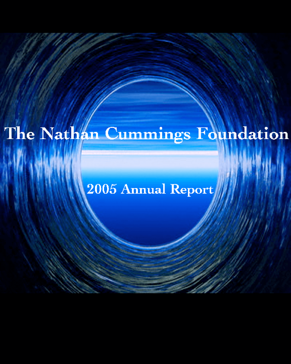 Nathan Cummings Foundation - 2005 Annual Report
