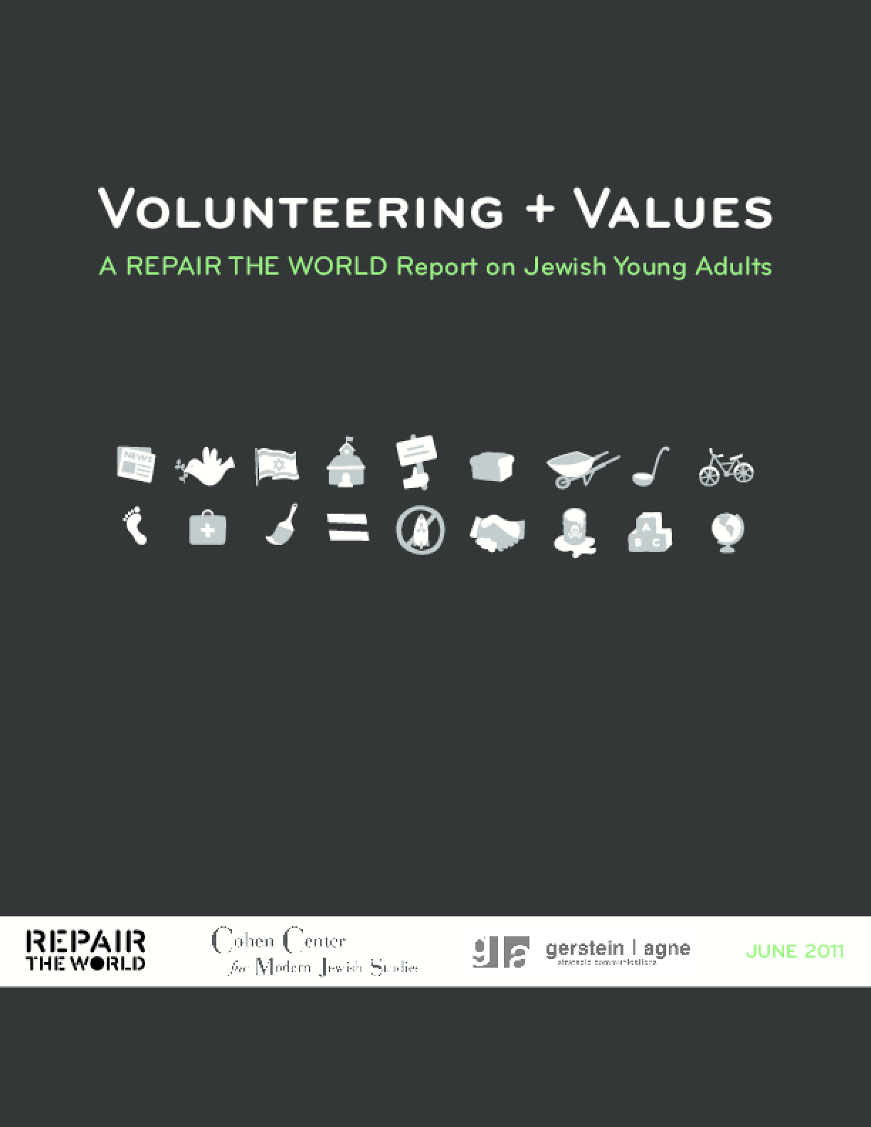Volunteering + Values: A Repair the World Report on Jewish Young Adults