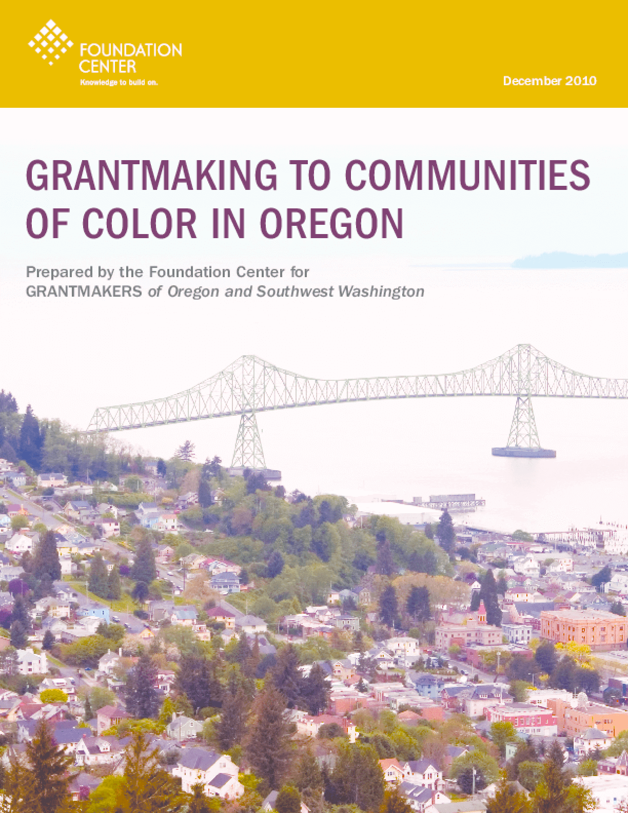 Grantmaking to Communities of Color in Oregon