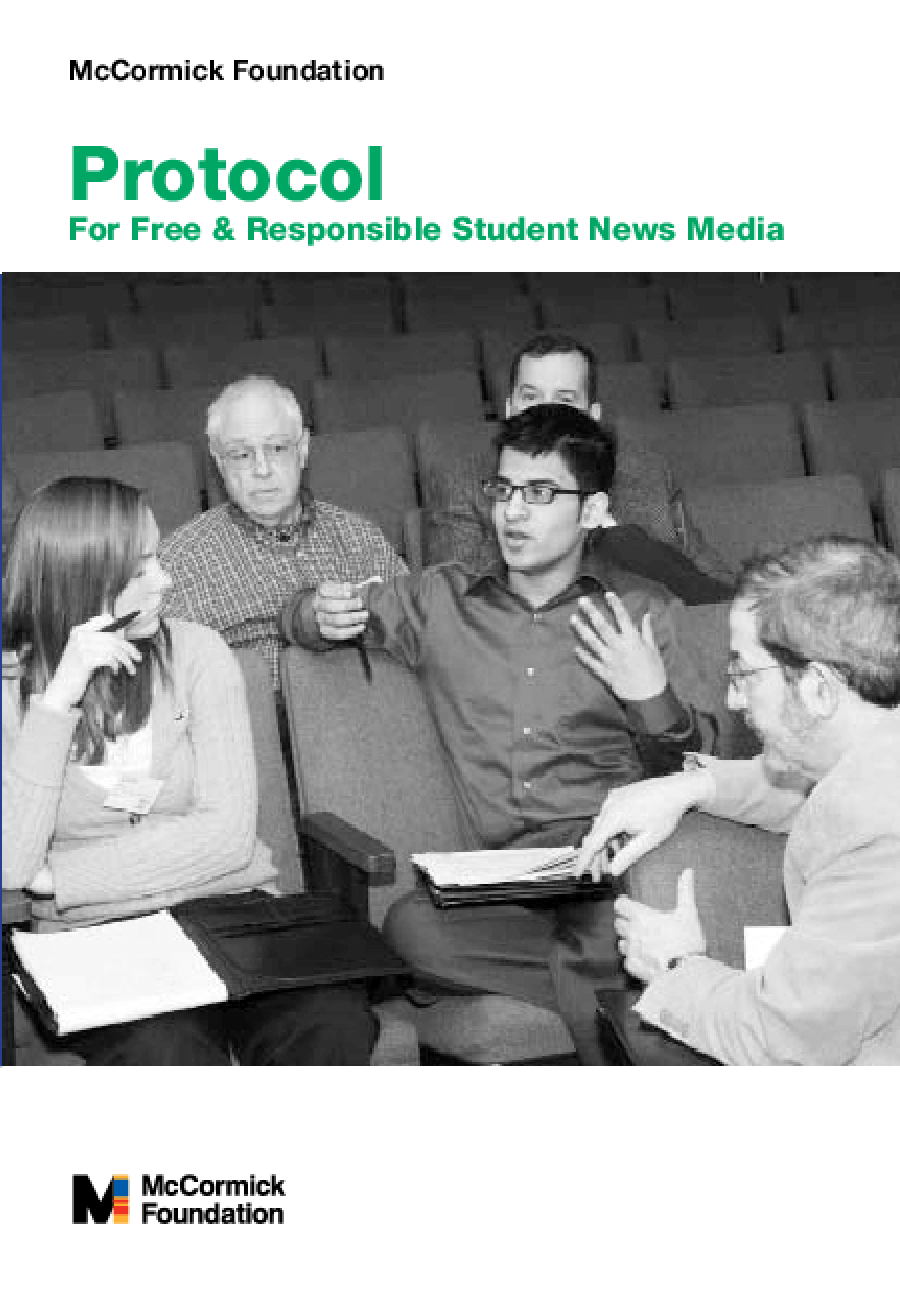 Protocol for Free & Responsible Student News Media
