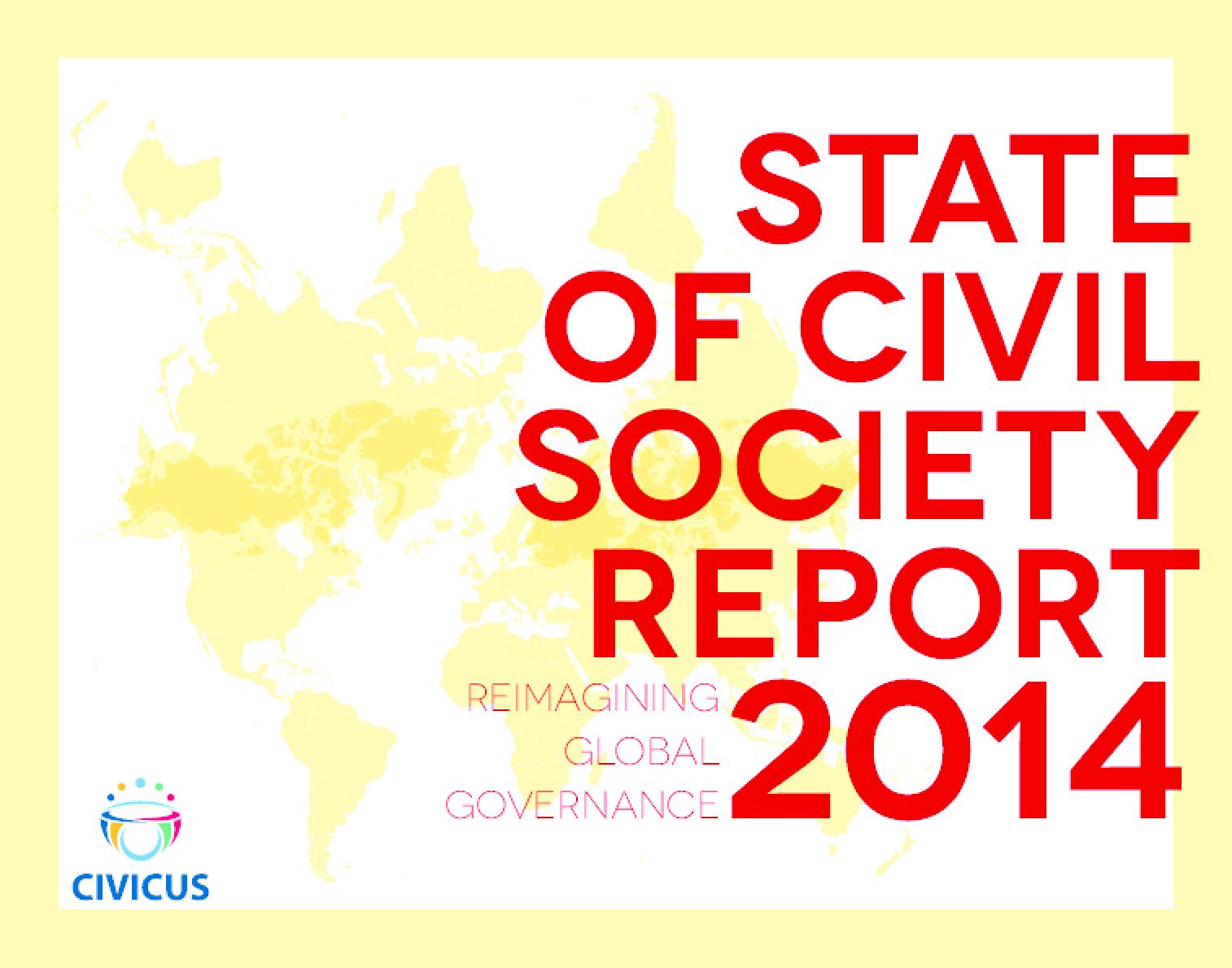 State of Civil Society 2014: Reimagining Global Governance