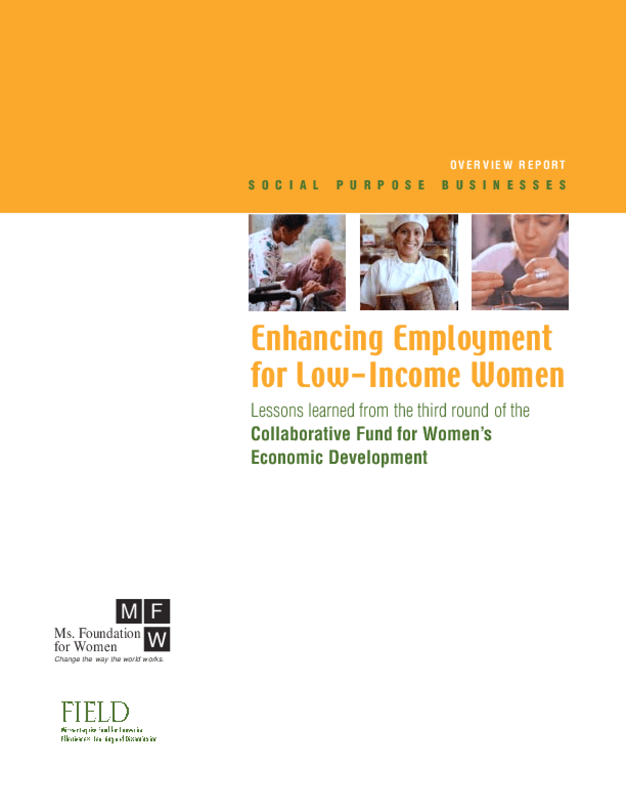 Enhancing Employment for Low-Income Women