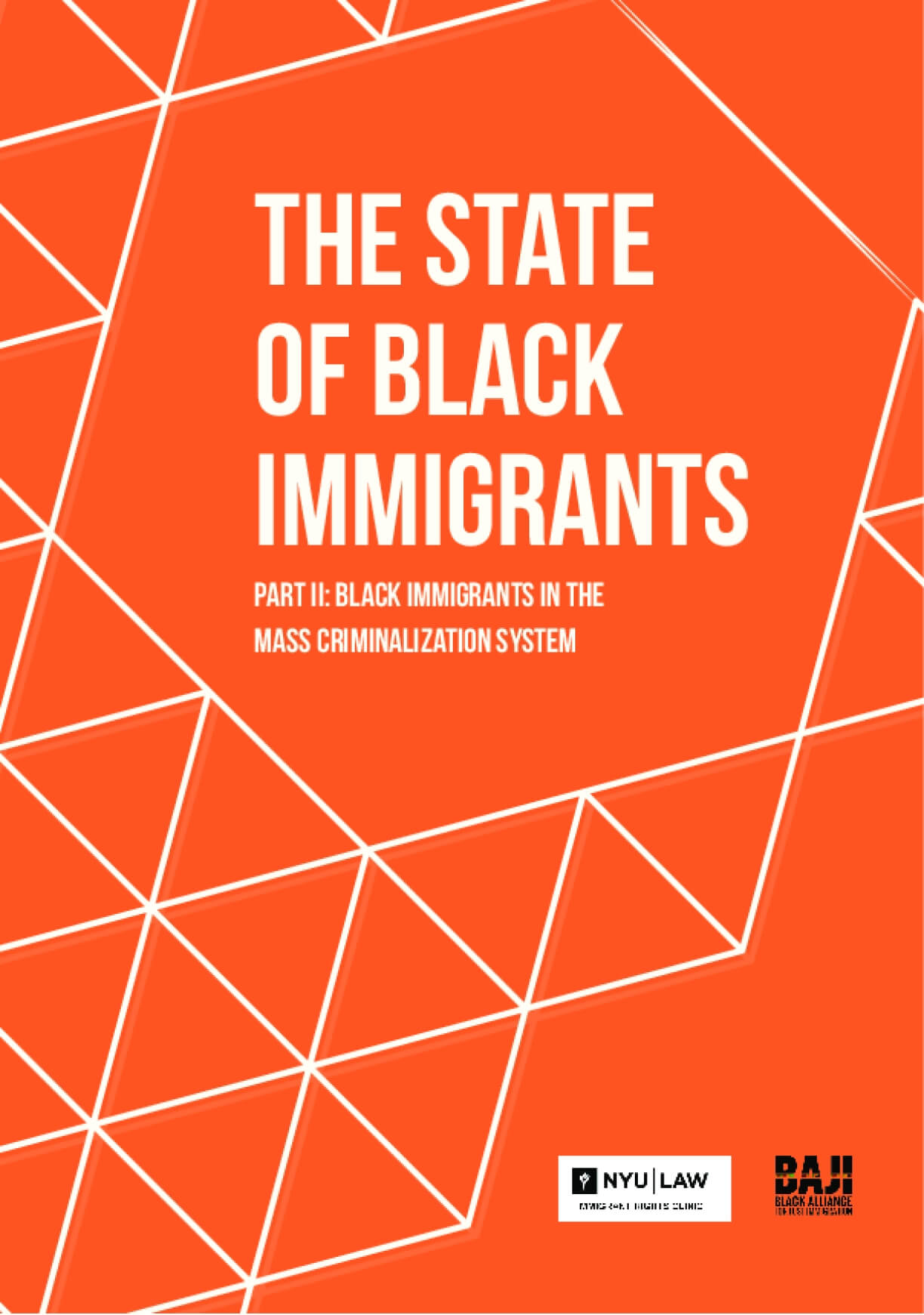 The State of Black Immigrants Part II: Black Immigrants in the Mass Criminalization System