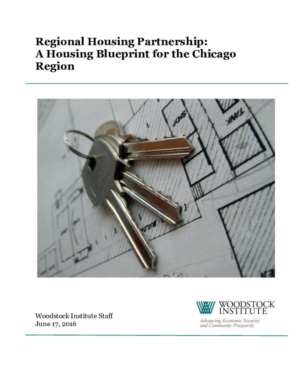 Regional Housing Partnership: A Housing Blueprint for the Chicago Region