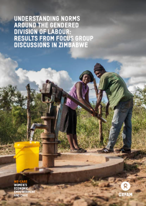 Understanding norms around the gendered division of labour: Results from focus group discussions in Zimbabwe