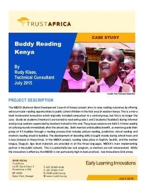 Buddy Reading Kenya