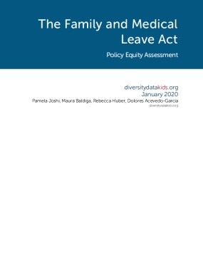 The Family and Medical Leave Act Policy Equity Assessment