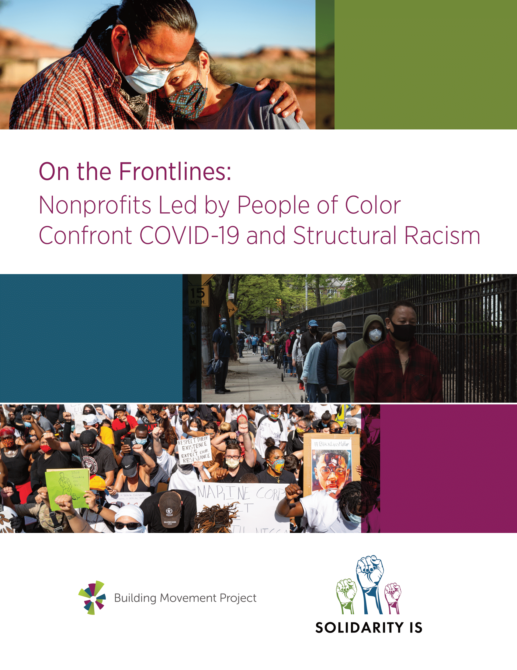 On the Frontlines: Nonprofits Led by People of Color Confront COVID-19 and Structural Racism